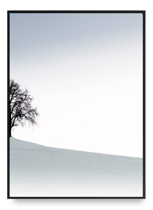 The Tree On The Hill Poster