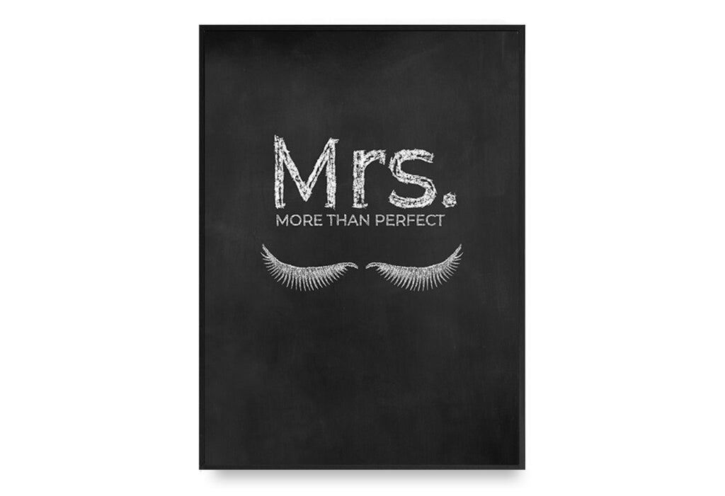 Mrs. More Than Perfect No. 2