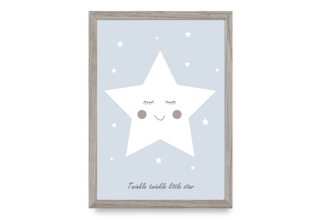 Twinke Twinkle Little Star - Blue