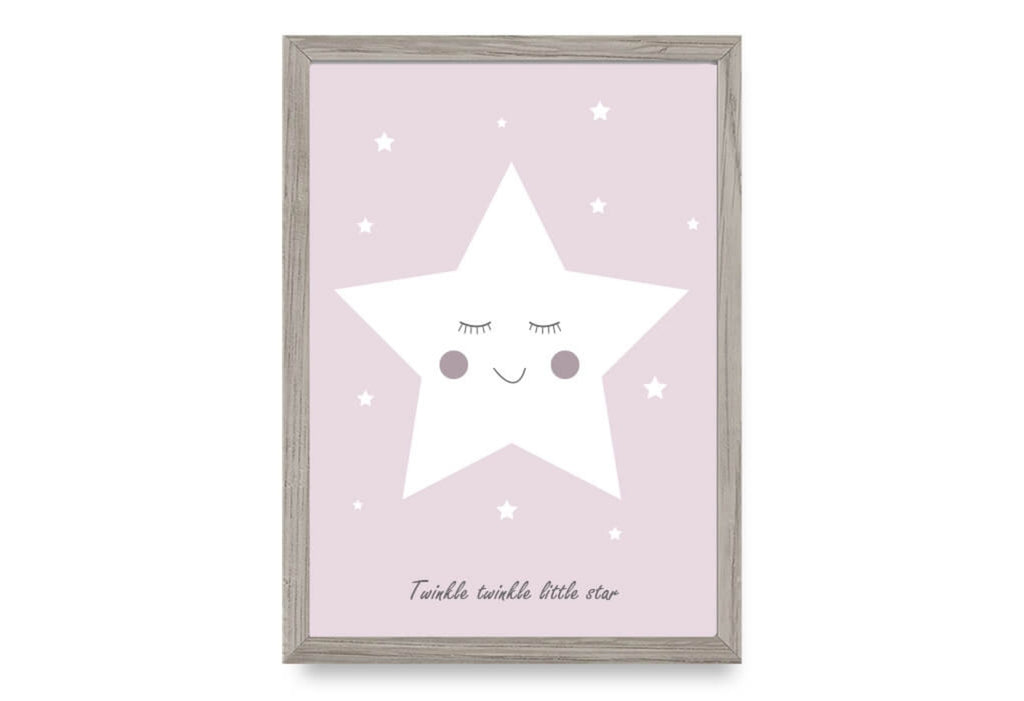 Twinke Twinkle Little Star - Pink