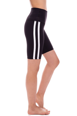 Retro Racer High Rise Biker Short