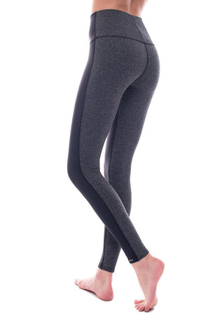 Black Two Tone highrise legging