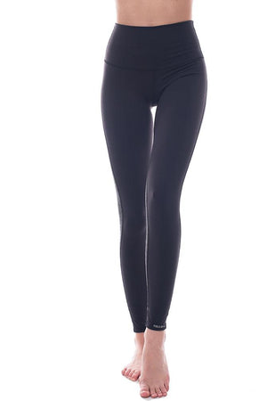 Two Tone high rise legging black