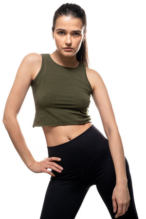 Bamboo Crop Top
