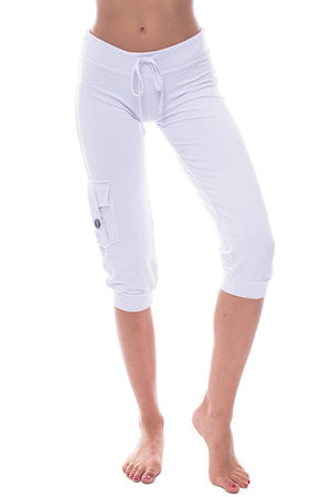 Bamboo Pocket Capris