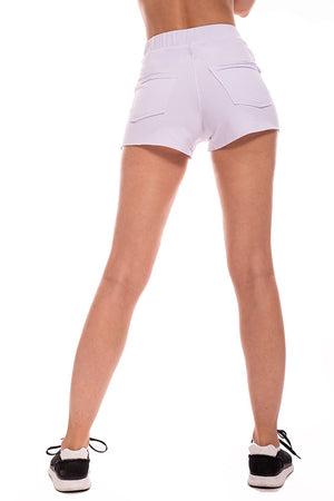 Highrise Bamboo Cargo Short
