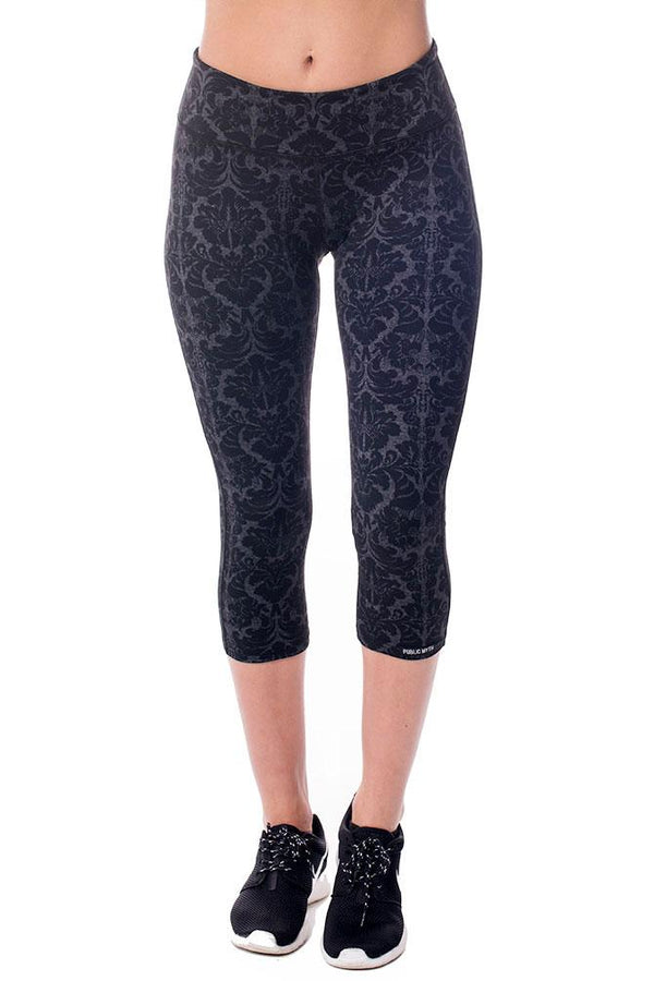 Baroque Crop Leggings