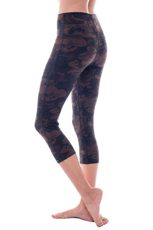 Spartan High Rise Crop Legging