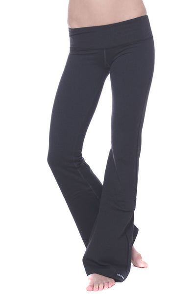 Contrast Stitch Flare Yoga Pant
