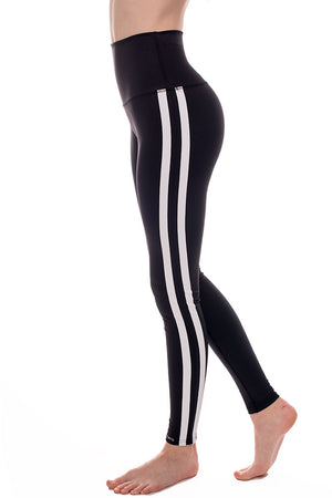 High Rise Retro Racer Leggings