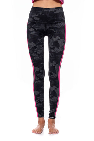 High Rise Shadow Racer Leggings