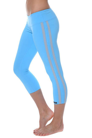 Retro Racer Crop Leggings (Sale)