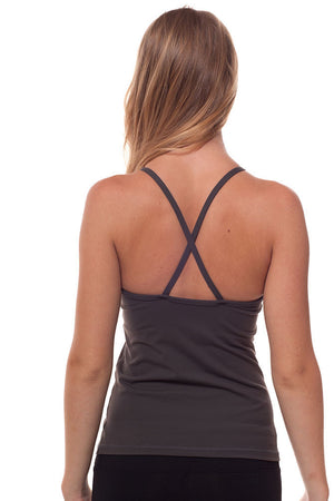 Ruched Neck Tank