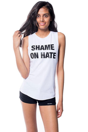 Shame On Hate Muscle Tank