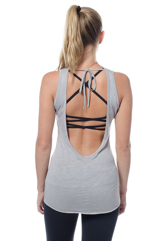 Scoop Back Tank Top