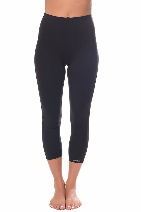 High Rise Crop Leggings