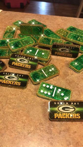 Deluxe Green bay packer dominoes
