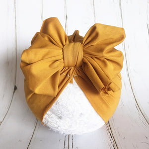 Baby Girl Cotton Headbands Newborn Infant Toddler Hairbands and Bows Child Hair Accessories -  Kid Fashion Shop