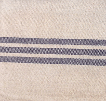 Load image into Gallery viewer, TEA TOWEL VINTAGE LINEN/COT. BLUE STRIPE No4 PKD 3 £3.75 EA.