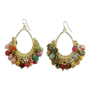 EARRINGS PKD 2 £7.50 PR.