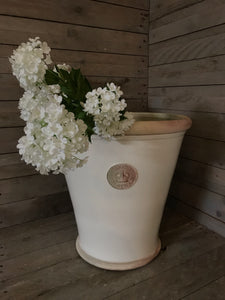 Kew Orangery Pots - Set of 3 Ivory