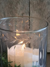 Load image into Gallery viewer, ETCHED GLASS HURRICANE LGE PKD 2 £9.98 EA.