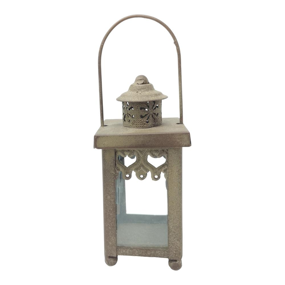 LANTERN CASITA ANTIQUE RUST PKD 4 £3.73 EA.