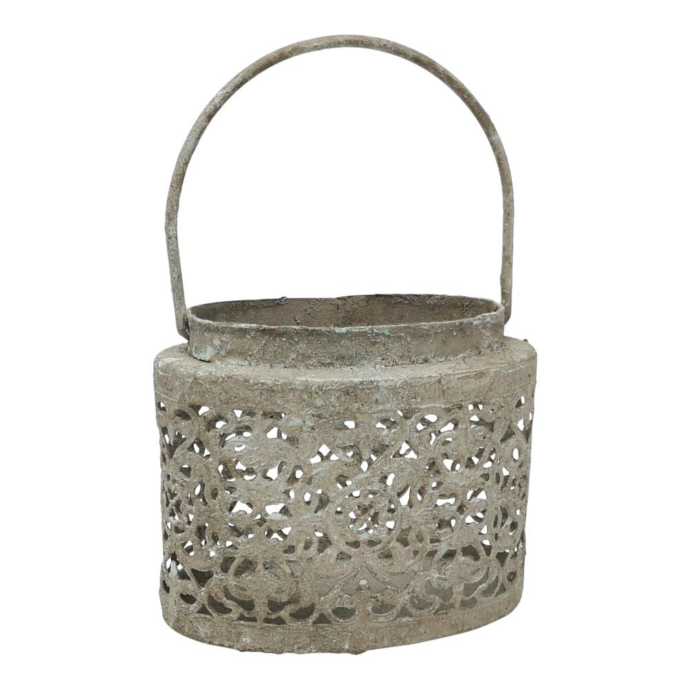 OVAL LANTERN PETITE FLEUR PKD 6 £3.75 EA. Back in Stock Mid-April