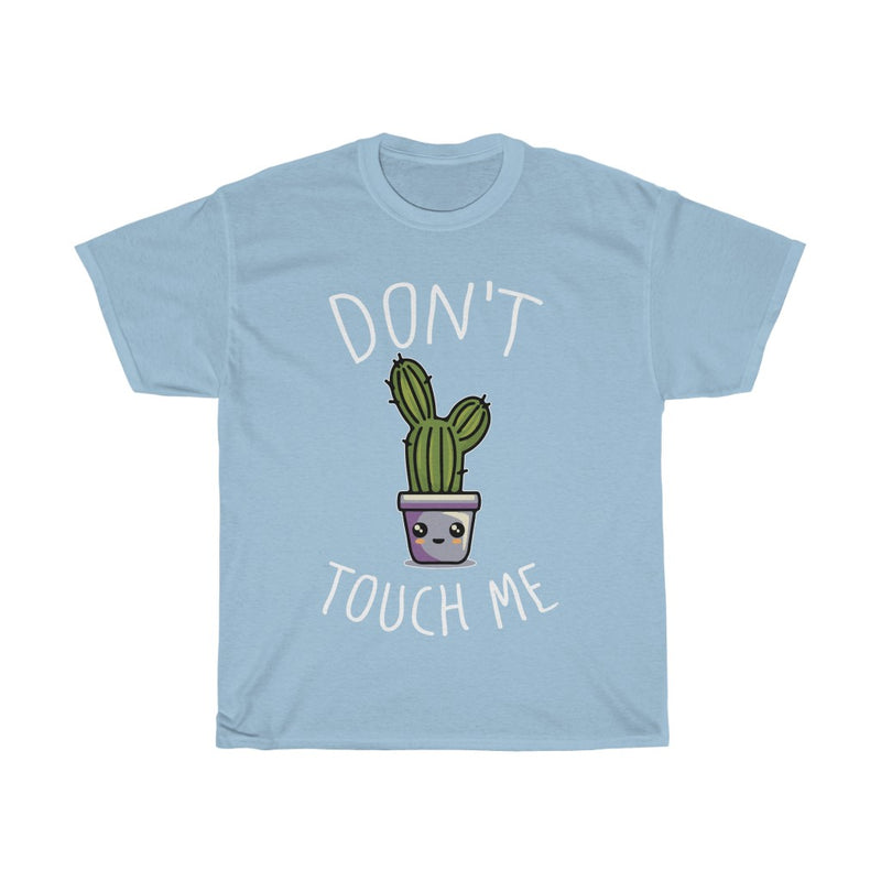 Light Blue Don't Touch Me T-Shirt
