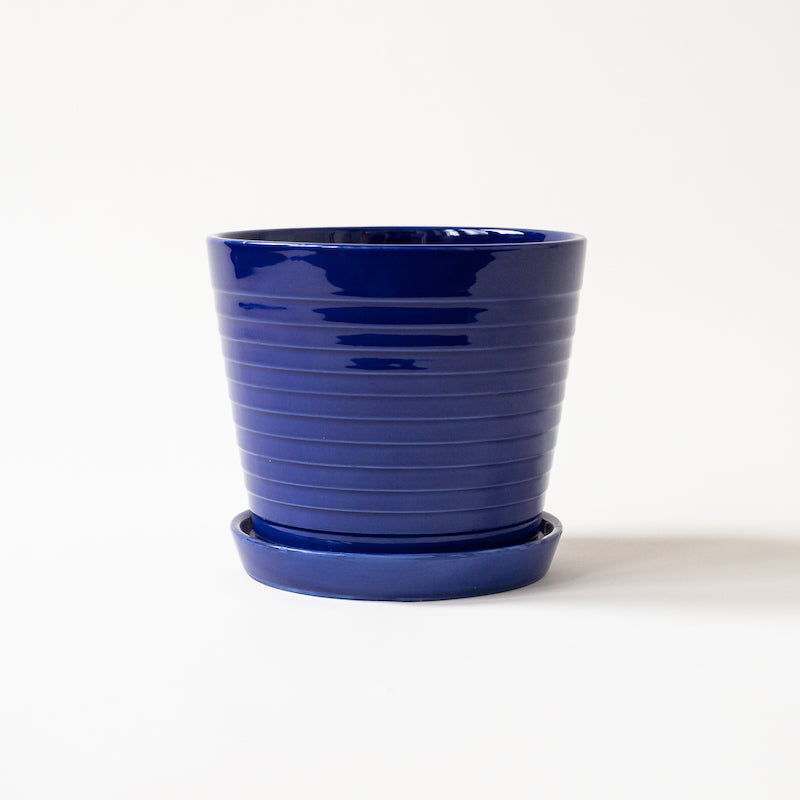Blue Wave Pot