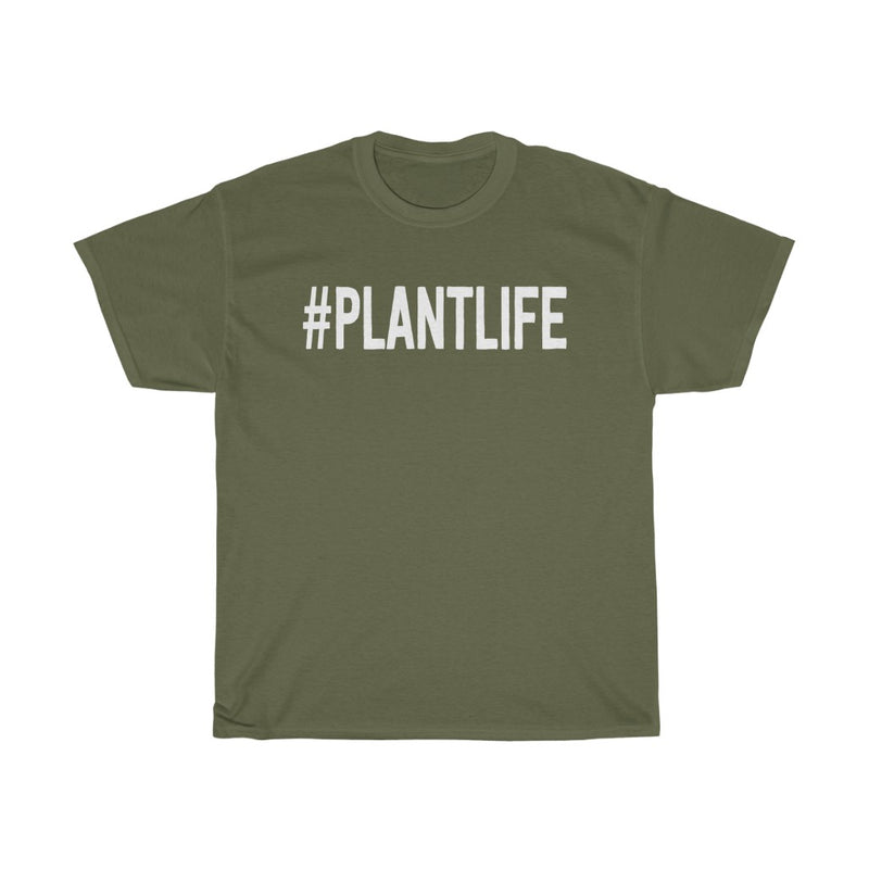 Military Green Plant Life T-Shirt
