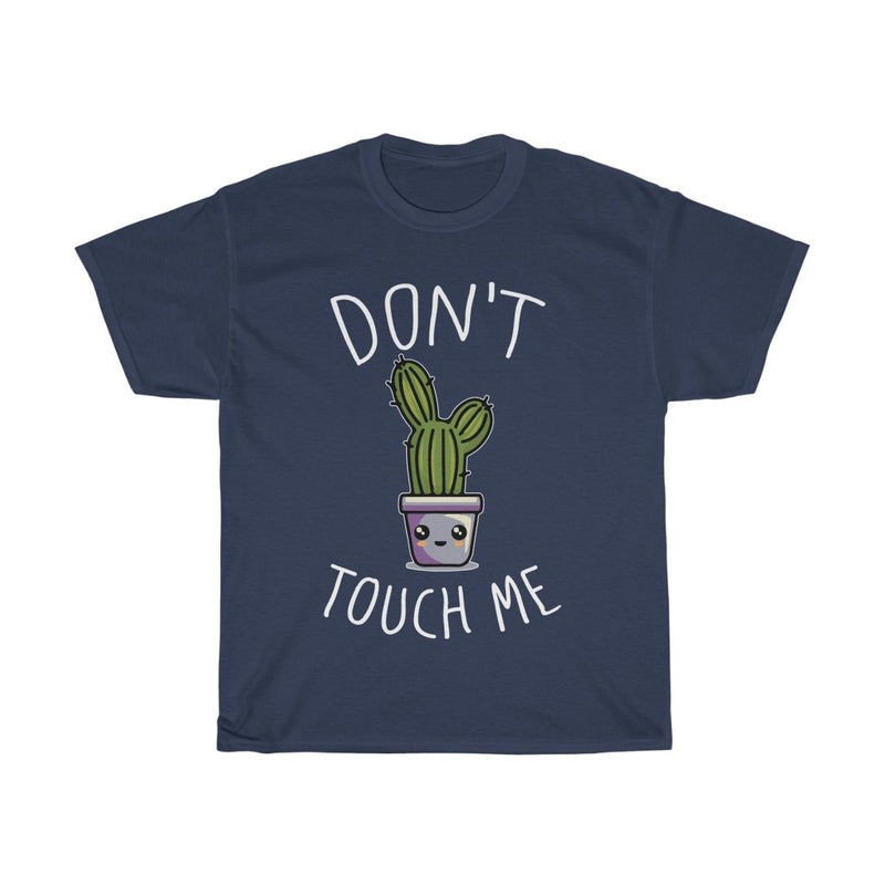 Navy Don't Touch Me T-Shirt