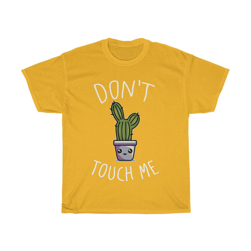 Gold Don't Touch Me T-Shirt