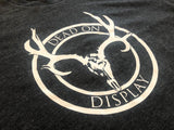 Next Level Tri-Blend Deer Skull Logo Tee