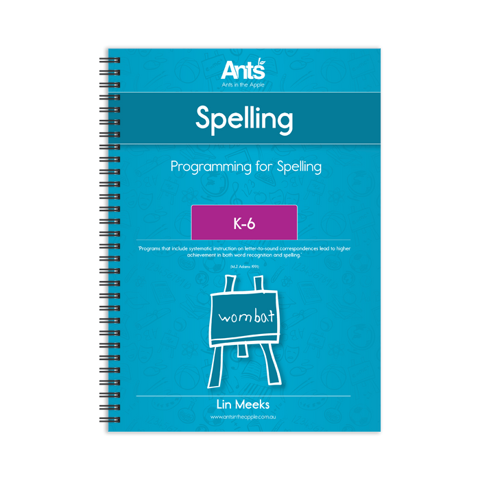 Programming for Spelling K-6