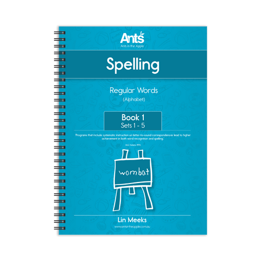 Spelling Program: Regular Words Book 1: Sets 1-5