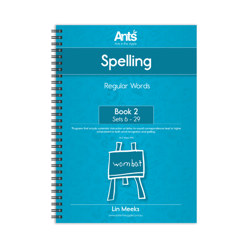 Spelling Program: Regular Words Book 2: Sets 6-29