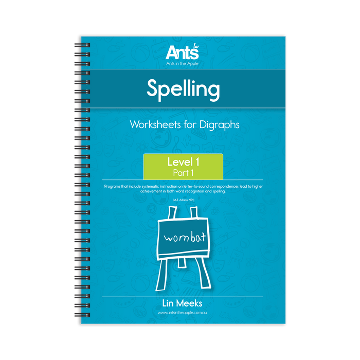 Worksheets: Digraphs Level 1 Part 1