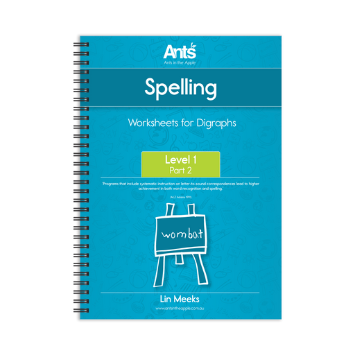 Worksheets: Digraphs Level 1 Part 2