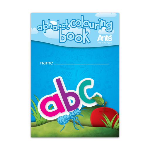 #18107 Alphabet Colouring Book (A5) 10 Pack