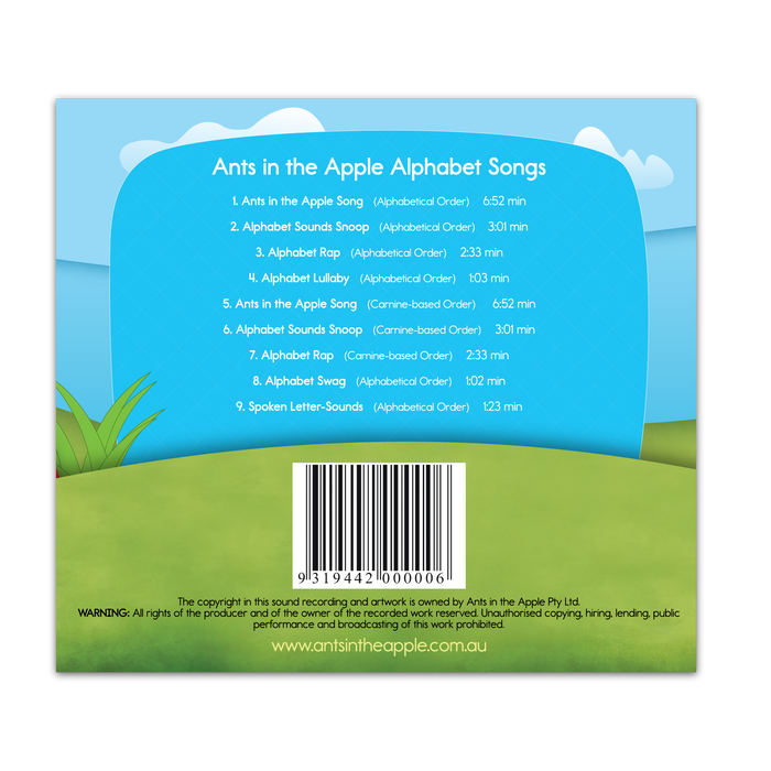 #18203 Alphabet Songs CD