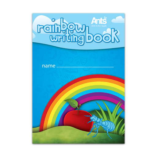 #18605 Rainbow Writing Book (A5) 10 Pack