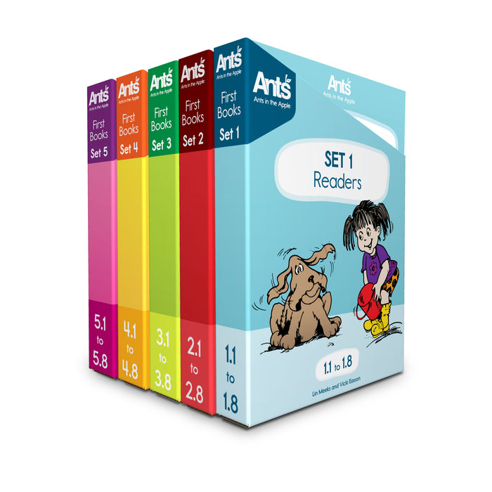 #14216 First Books Sets 1-5 (All 40 Readers)