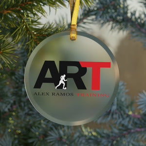 ART Glass Ornament