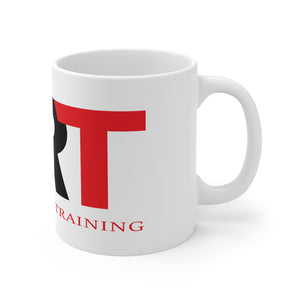 ART Logo White Ceramic Mug