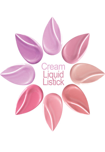 Cream Liquid Lipstick Samplers w/5 Colors