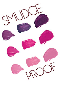 SmudgeProof Liquid Lipstick Samplers w/5 Colors