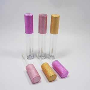 Glitter Pink Top Liquid Lipstick Package 240 psc w/5 Colors