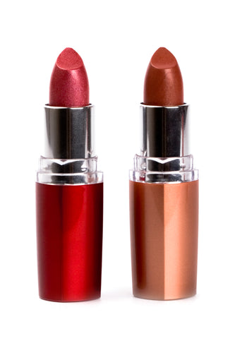 Red Round Tube-Lipstick Package 220 psc w/5 Colors