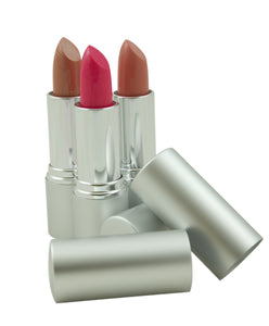 Silver Diamond Tube-Lipstick Package 220 psc w/5 Colors